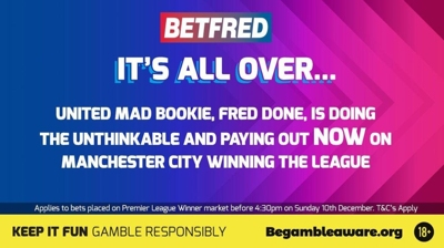 betfred early payout