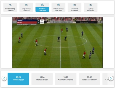 betvictor football virtuals screenshot
