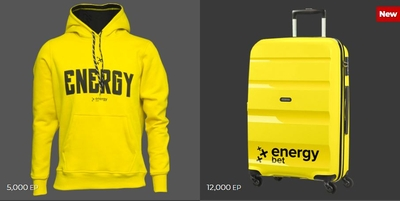 energybet shop products
