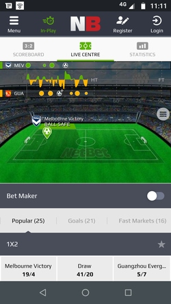 netbet mobile app live betting