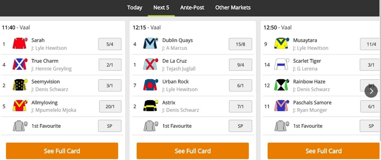 totesport markets odds example