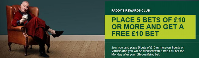 paddy power rewards club