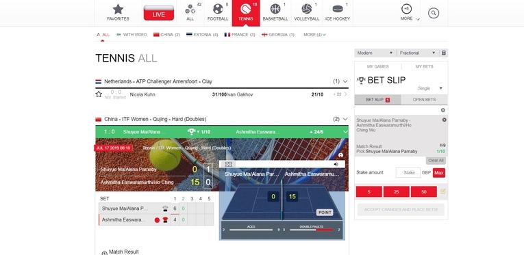 royal panda live betting interfaces