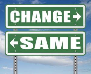 change same signpost