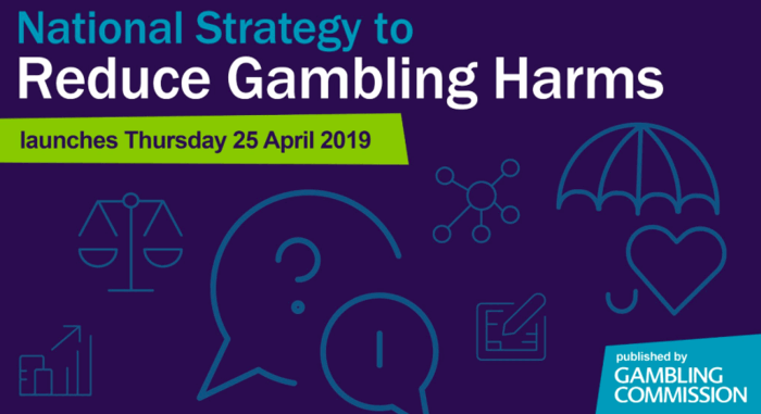 national strategy gambling harms